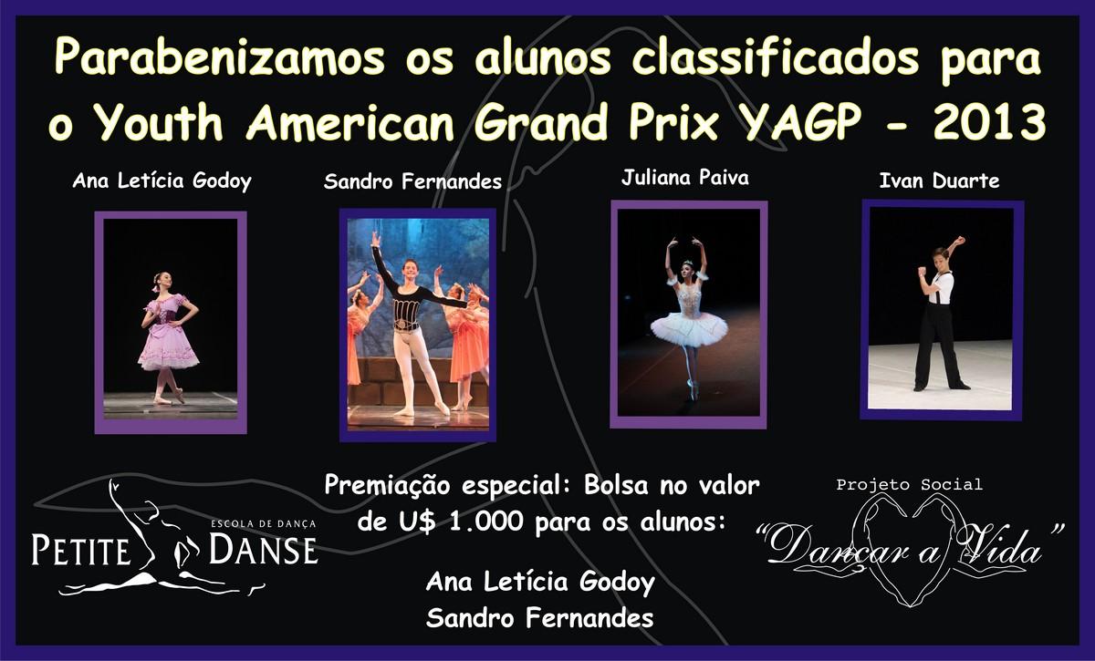 Alunos Petite Danse na Youth American Grand Prix 2013