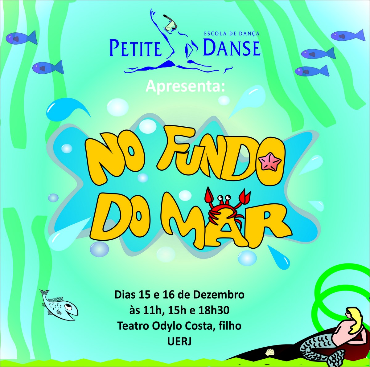 Espetáculos de Dança - Encerramento de 2012