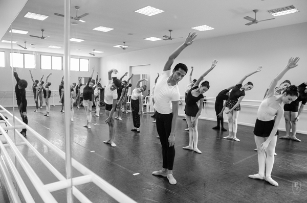 Aula de Ballet na Petite Danse