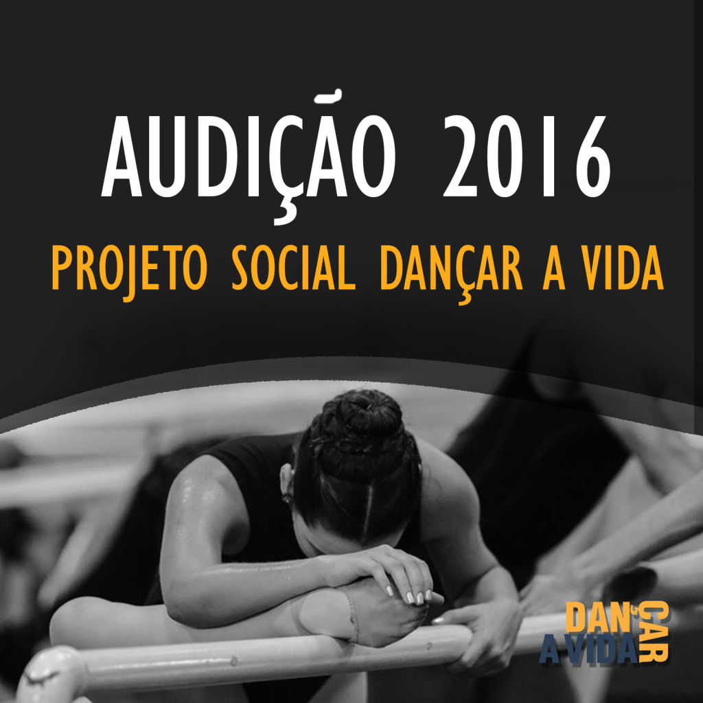 Abertas as inscrições para o Projeto Social Dançar a Vida