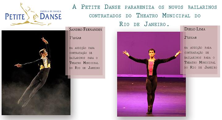 Conheça os alunos do Projeto Dançar a Vida que são os novos bailarinos contratados do Theatro Municipal do Rio de Janeiro