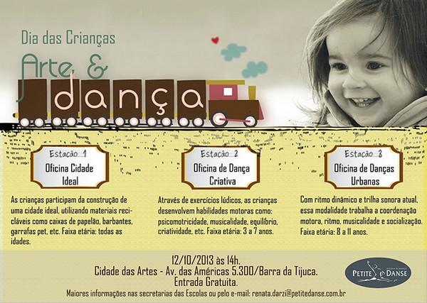 Dia das crianças Petite Danse