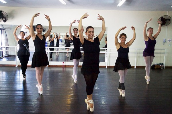 Vantanges do ballet para adultos