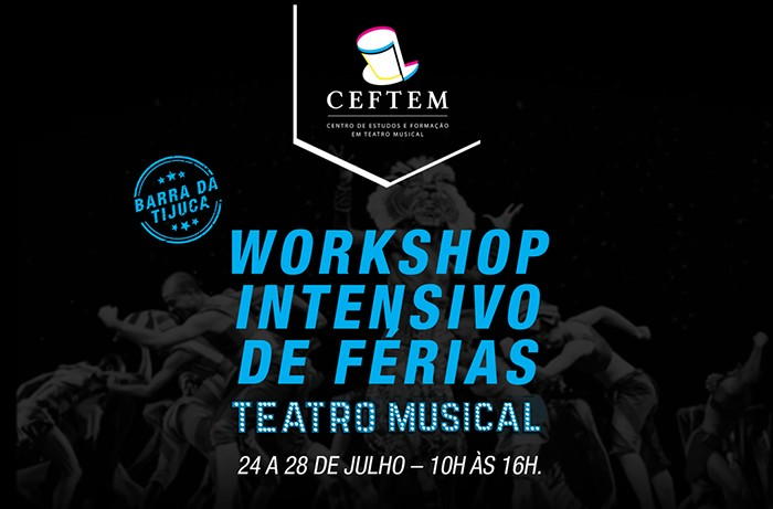 Workshop intensivo de dança nas férias 2017