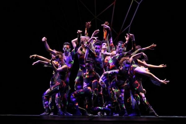 Make para apresentação de ballet