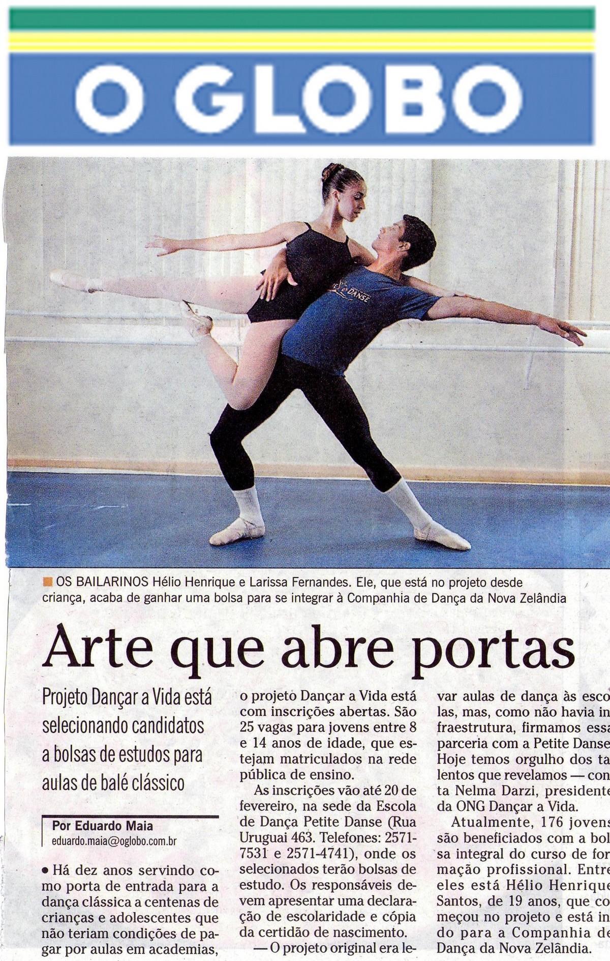 Escola de Dança Petite Danse na Mídia