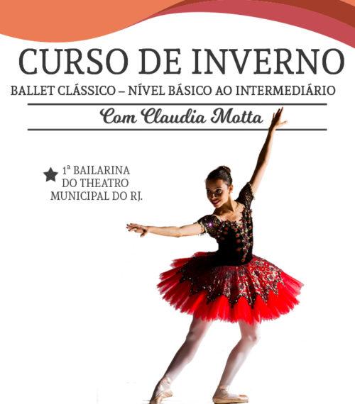 Curso de Inverno da Escola de dança Petite Danse - Curso de Ballet Clássico