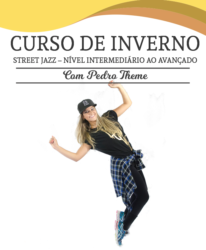 Cursos de férias da petite danse   Street Jazz – Nível intermediário ao avançado
