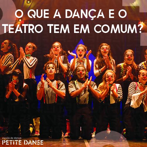 A conexão entre a dança e o teatro