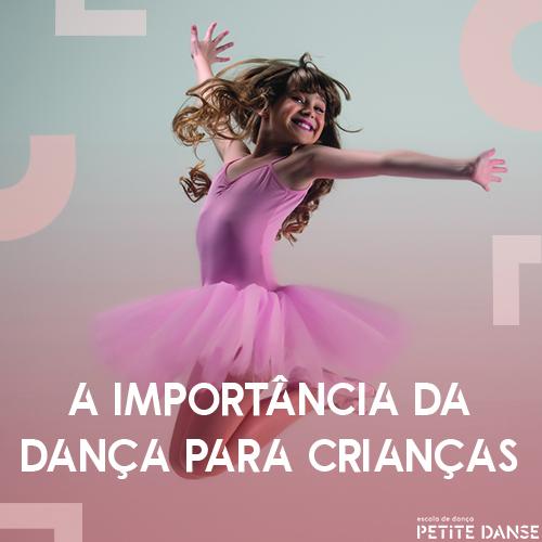 A importância da dança na vida das crianças