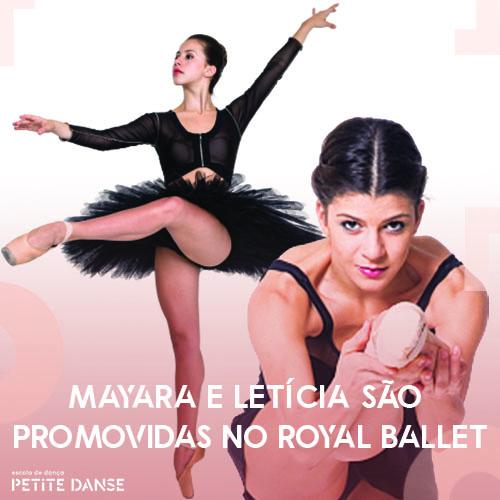Mayara Magri e Letícia Dias são promovidas no Royal Ballet