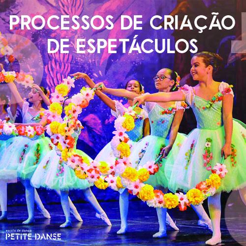 Como se cria um espetáculo de dança?