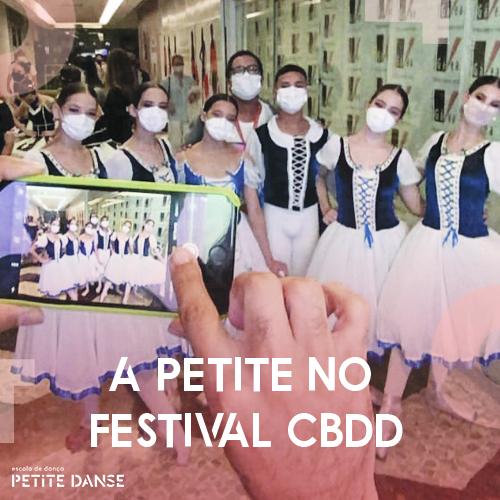 Petite no Festival CBDD 2021