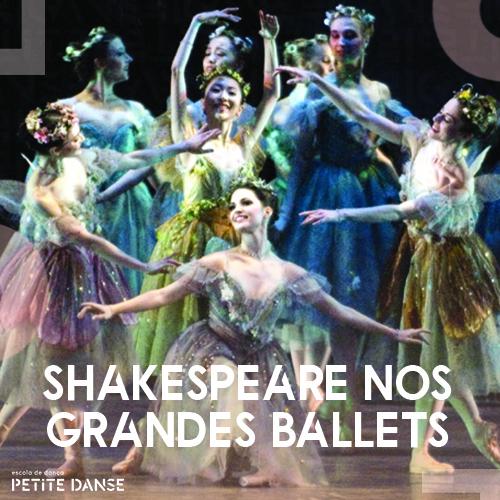 5 ballets de repertório inspirados nas obras de Shakespeare