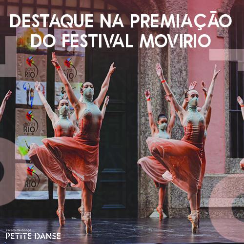 Petite Danse ganha prêmio de Melhor Escola no Festival MoviRio