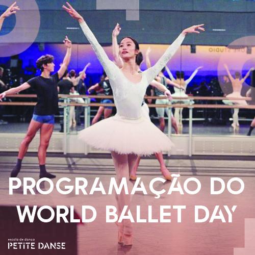 World Ballet Day de 2021: programação e muito mais